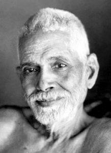 portrait de Ramana Maharshi