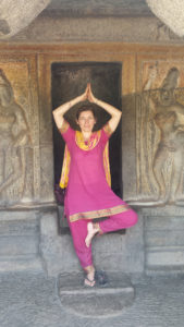 Nathalie Borga en Inde
