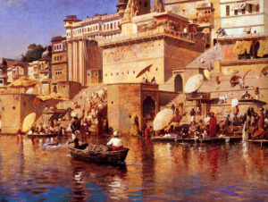 Weeks_Edwin_On_The_River_Benares