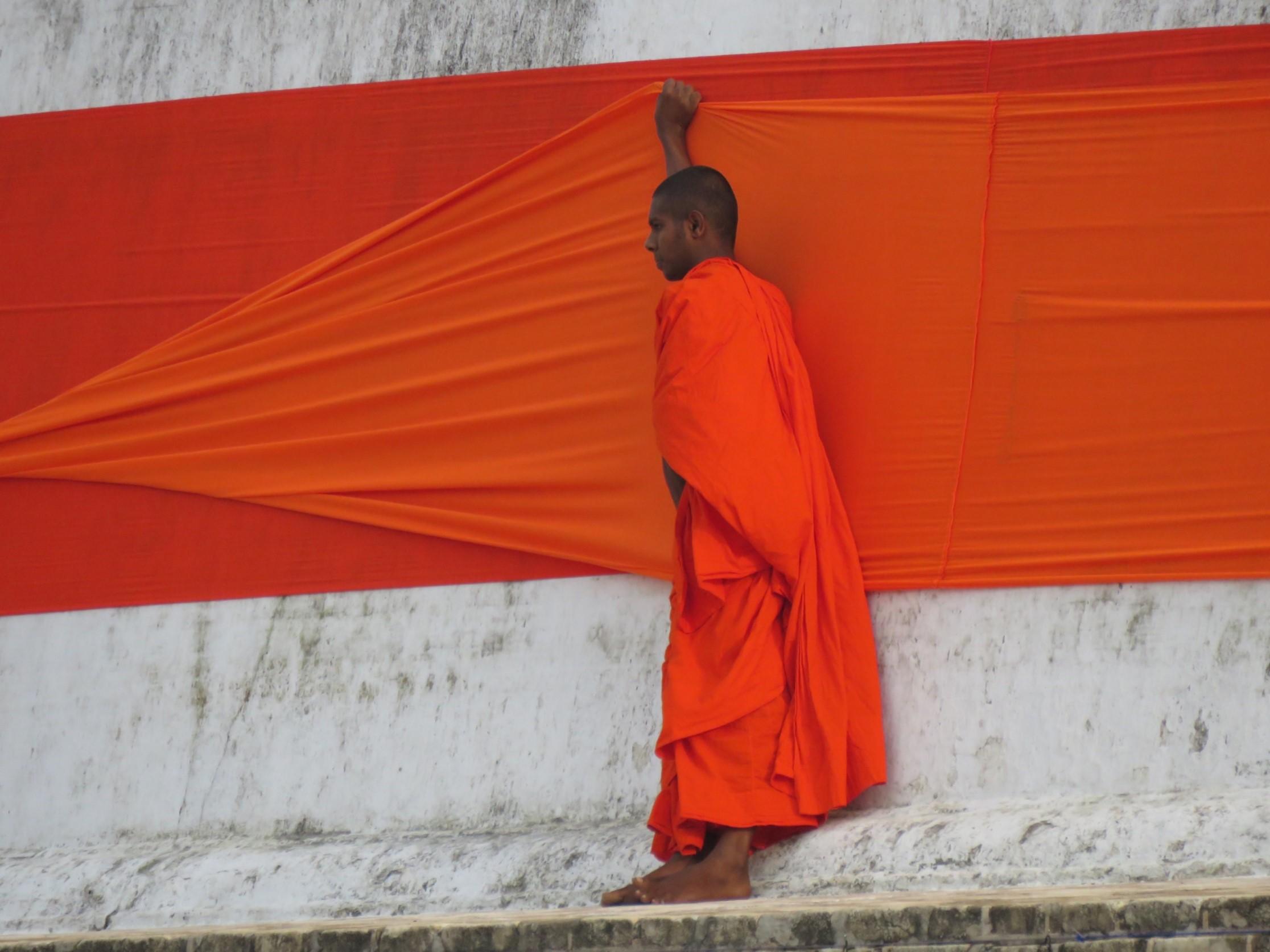 La nature, la plage, le bouddhisme sri lankais, les stupas millénaires